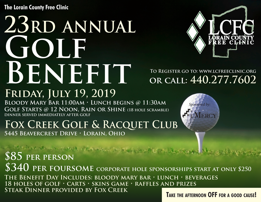 Lorain County Free Clinic Golf Outing