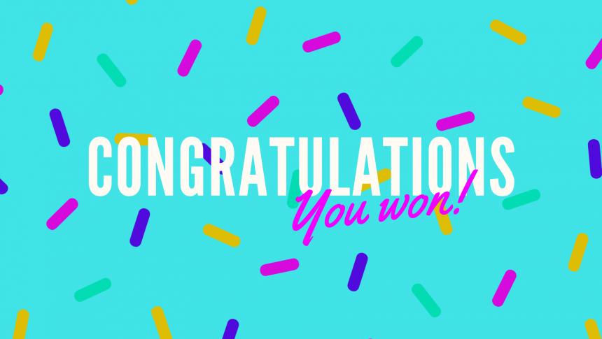 Congratulations Lottery Winners!
